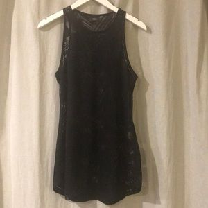 Mossimo black sheer tank